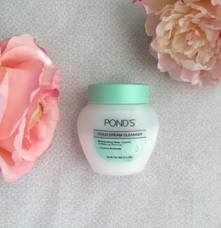 Ponds cold cream cleanser